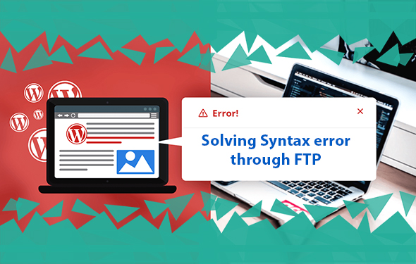 Solving Syntax error through FTP