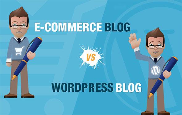 E-Commerce Blog VS WordPress