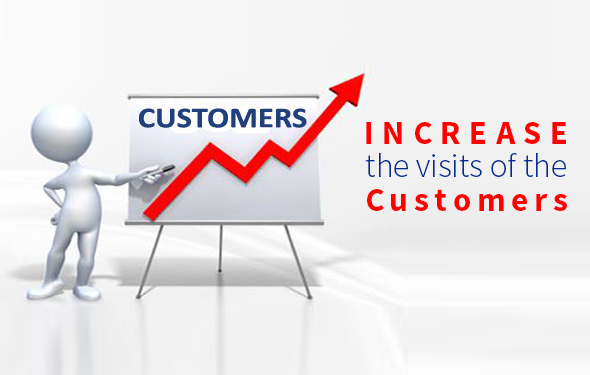 Increase the visits of the Customers