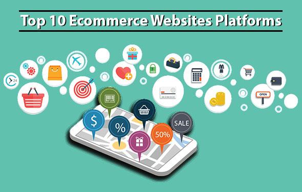Top 10 Ecommerce Websites Platforms