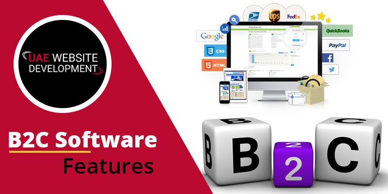 B2C software features