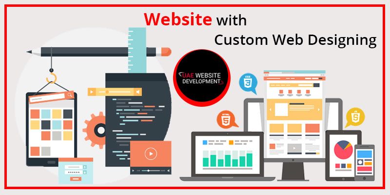 website with Custom Web Designing