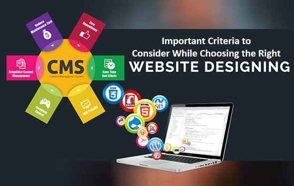 Important Criteria to Consider While Choosing the Right Web Designing