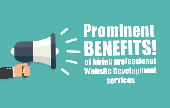 Prominent benefits of hiring professional Website Development services