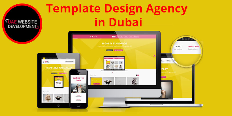 Template Design Agency in Dubai